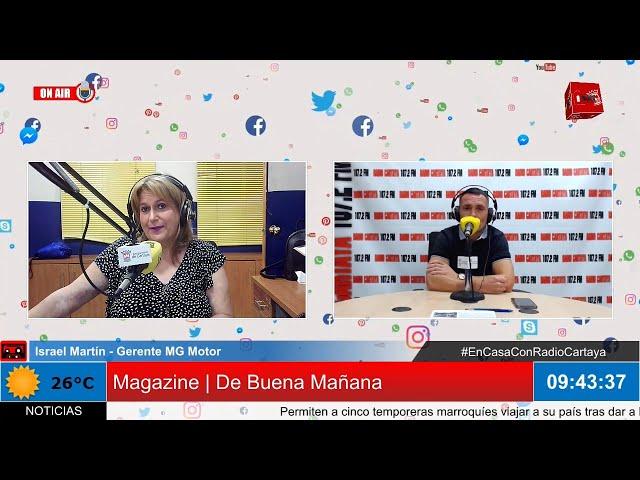 Radio Cartaya | Nuevo concesionario MG Motor Multimarcas en Cartaya