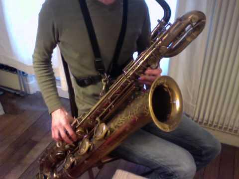 4 Octave Altissimo - Baritone Saxophone (Paraschos Wooden Neck)