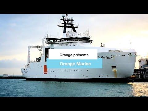 Orange Marine, le navire Pierre de Fermat