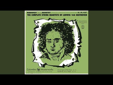 String Quartet No. 16 In F Major, Op. 135: IV. Der Schwer Gefasste Entschluss