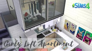 Girly Loft Apartment | 701 ZenView | The Sims 4 | Speed Build
