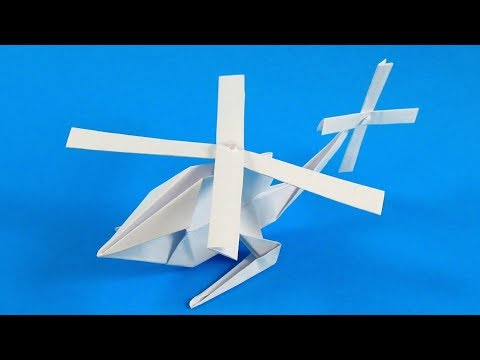 Making a paper helicopter