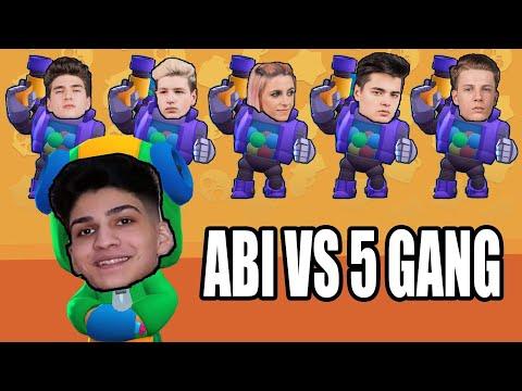 ABI Vs 5GANG In BRAWL STARS
