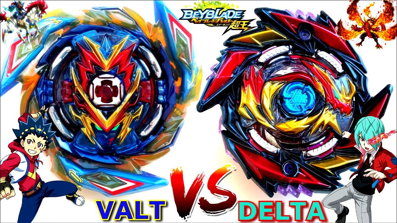 WEAK: Death Diabolos 4T Mr'1D vs Brave Valkyrie Ev'2A-Delta v Valt-Beyblade Burst SuperKing Battle超王
