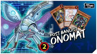 "POST BANLIST ONOMAT / ""I have a Banlist"" -Konami, ""We have a Skill"" -Onomat [Yu-Gi-Oh! Duel Links]"
