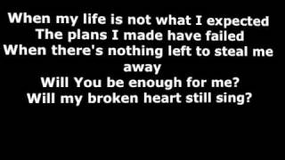 Kutless - I'm Still Yours (lyrics)