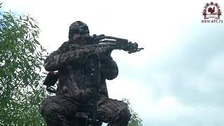 Охота на кабана с арбалетом с мобильной вышки