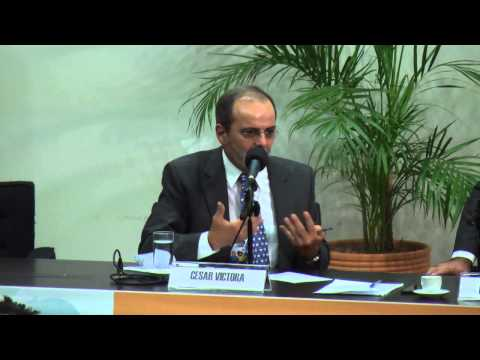 Dr. César Victora Conferencia dos Mil dias
