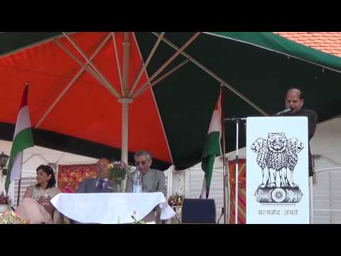 Independence Day 2015 at Embassy of India, Budapest - long version