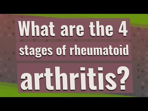 What Are The 4 Stages Of Rheumatoid Arthritis Youtube