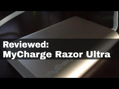 MyCharge Razor Ultra Portable Power Bank Review | Model RZ12D-A