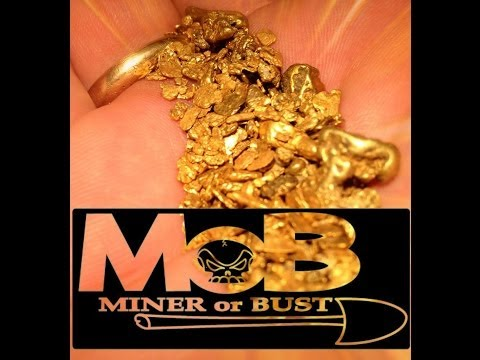S/4 PRT/13 The Gold Prospector MINER or BUST