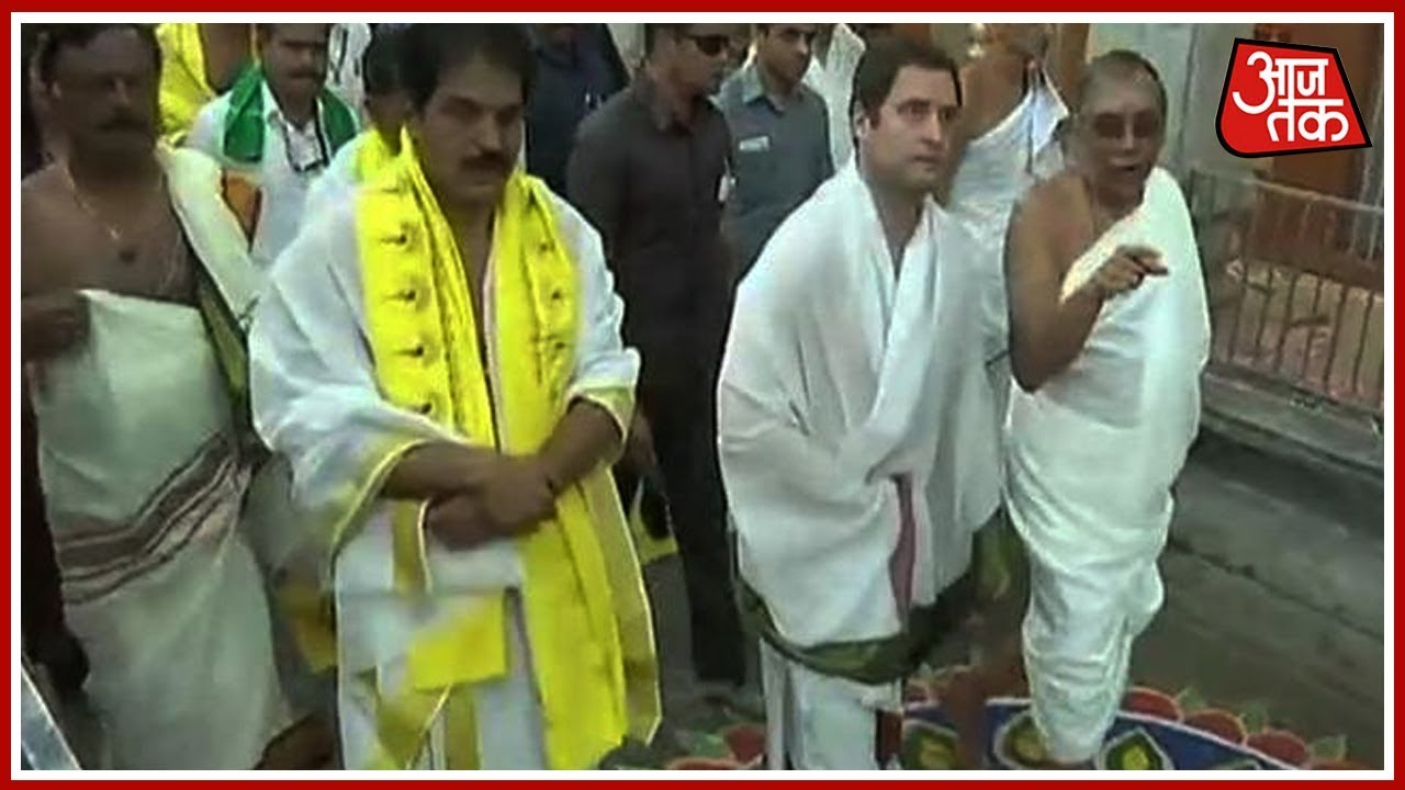 rahul gandhi resumes temple run in karnataka will it help cong win