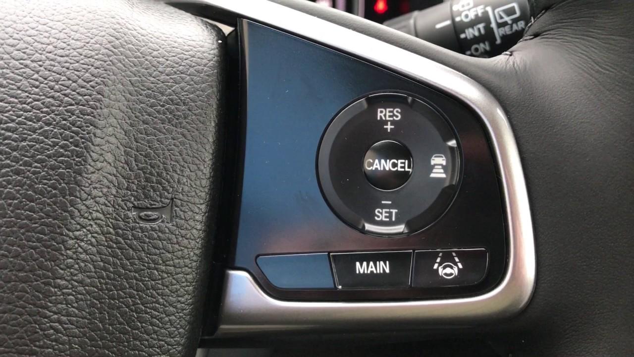 Honda Sensing Acc Lkas Attention Monitor