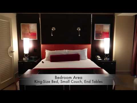 Mirage One Bedroom Tower Suite Tour YouTube