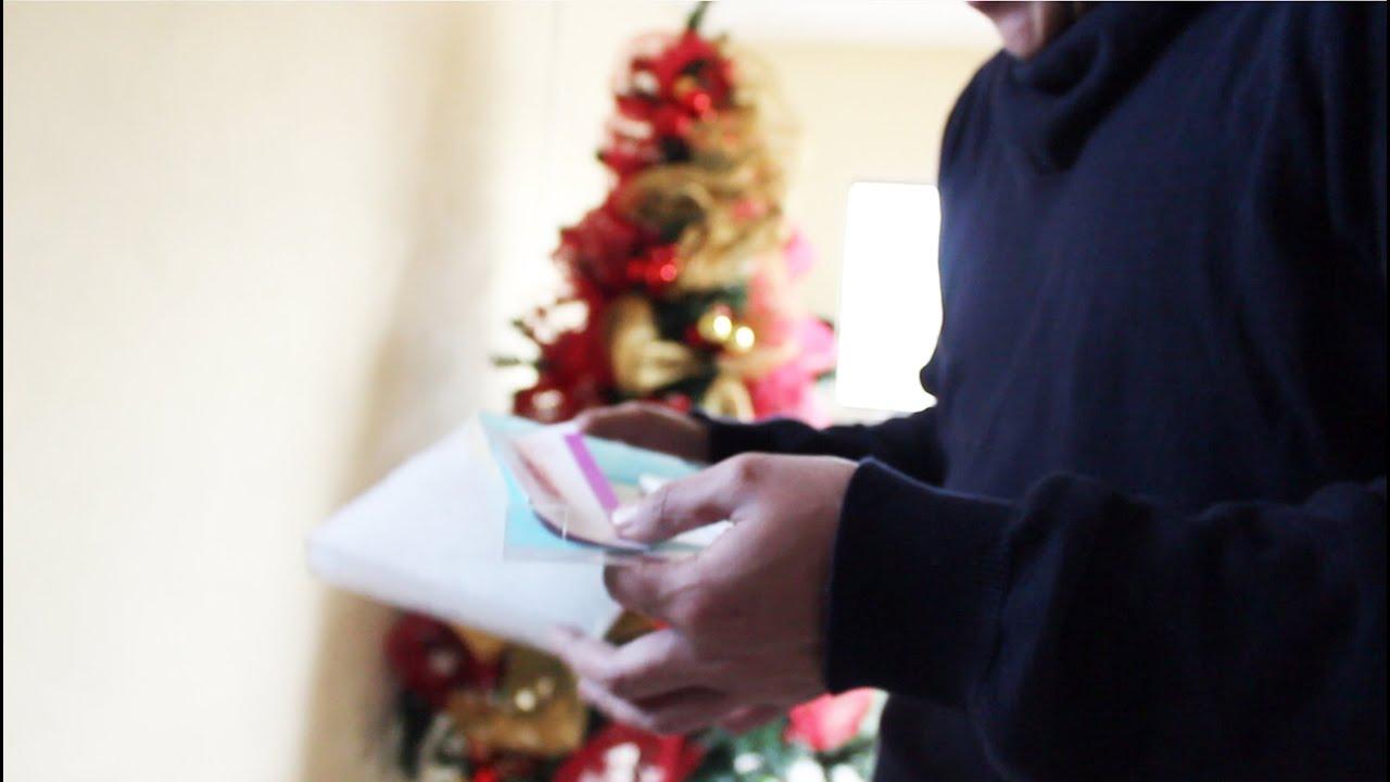 vas a ser pap225 sorpresa en regalo de navidad youtube