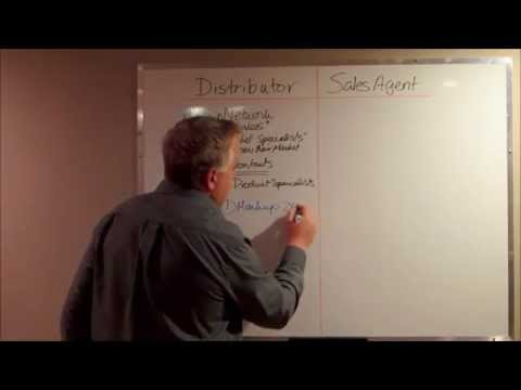 B2B Sales Channels Distributor vs Sales Agent