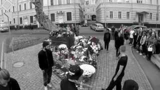 Видео перфоманса творческого объединения Far-for в память о жертвах бесланской трагедии...