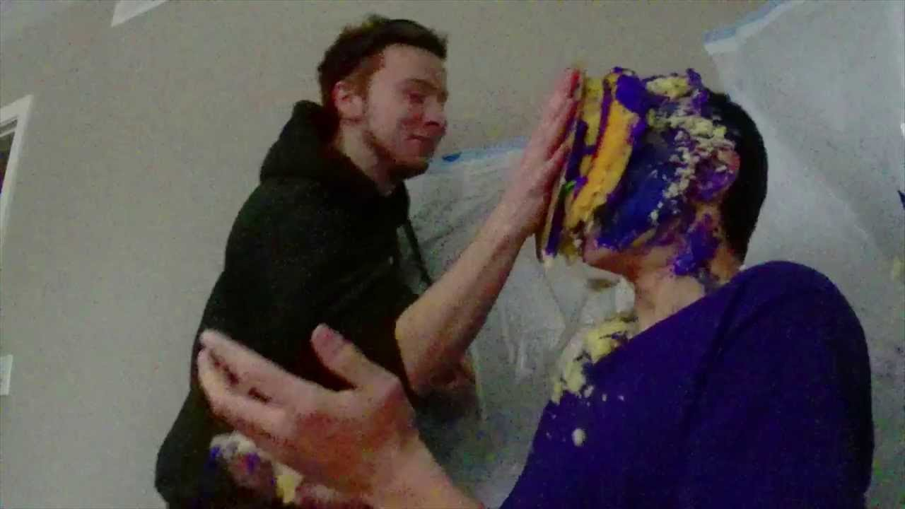 People Getting Smashed In The Face With Cake Compilation