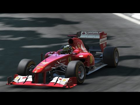 Project CARS Monte Carlo FORMULA 1 GRAND PRIX DE MONACO 2016 (SPRINT 25LAPS FULL DAMAGE MULTI)