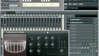 FLS tutorial commen Utiliser Mixer - Step sequencer - piano roll