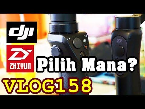 Zhiyun Smooth Q VS DJI Osmo Mobile - Ft Lippo Plaza Kota Batu (BATOS)