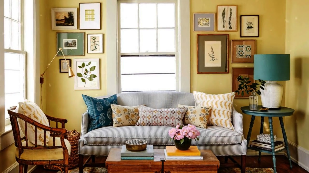 Creative Cozy Country Living Room Furniture Home Art Design Decorations