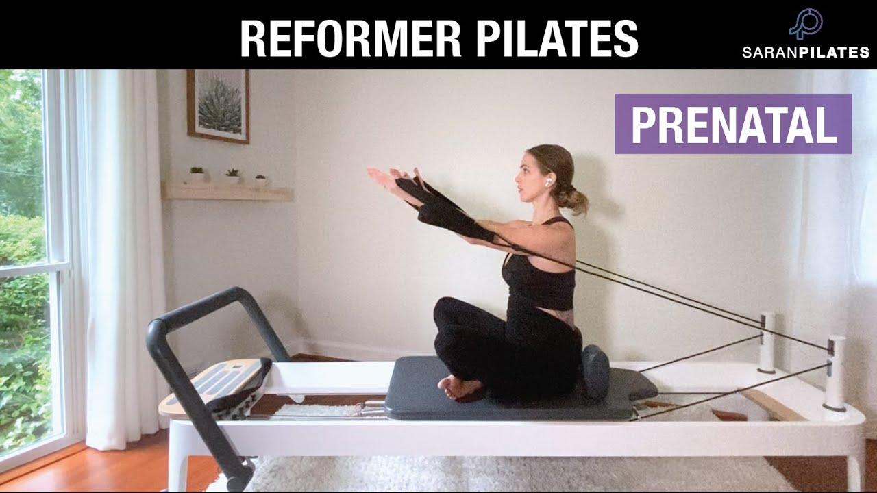 Prenatal Pilates Reformer
