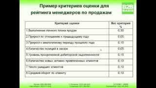 Оценка и аттестация менеджеров по продажам
