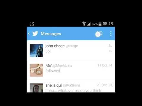download video from twitter inbox