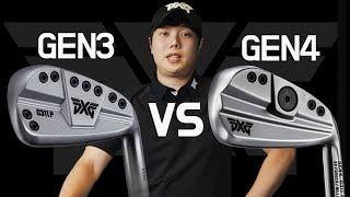 PXG GEN3 vs GEN4   아이언 비교시타   …