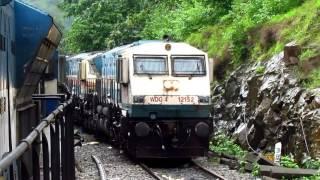One Hell of a Experience | Loco Ride | Dudhsagar | Monsoon | Natarajan meets Natraj