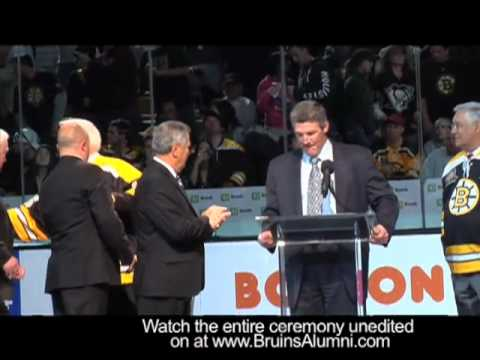 40th Anniversery 1970 Stanley Cup Team Ceremony - The Ceremony (Edited for length)