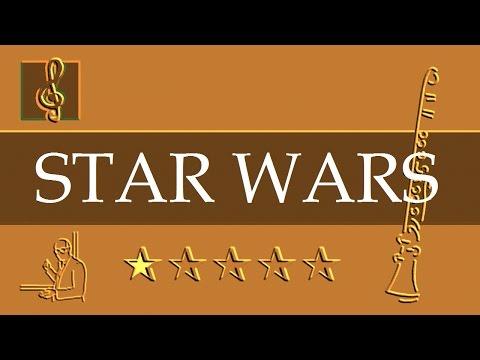 Clarinet Notes Tutorial - Star Wars - Main Title (Sheet music)