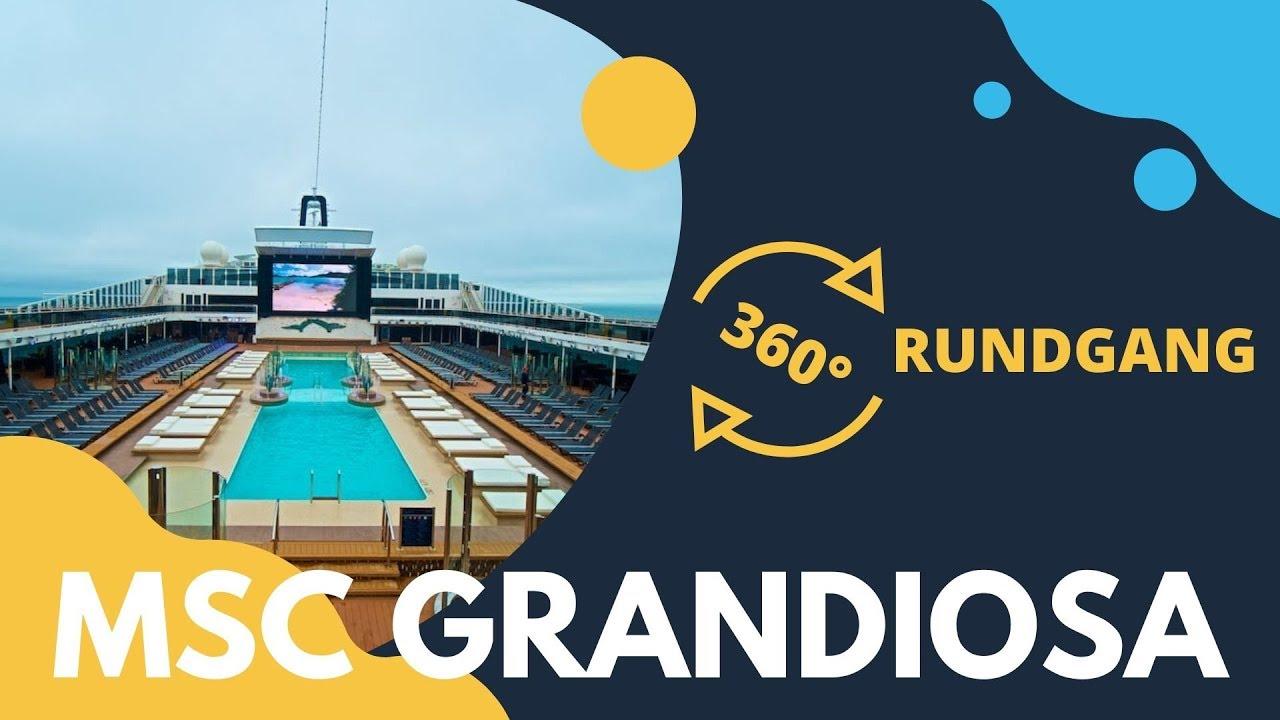 10+ Msc Grandiosa Virtual Tour 360 PNG