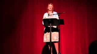 "Heather Curlee Novak reading ""Nightmare After Midnight"""