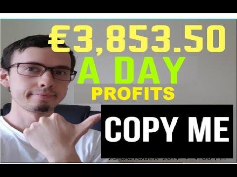 FOREX HACK LIVE TRADING €3,853.50 PROFITS In 3 Hours (COPY ME)