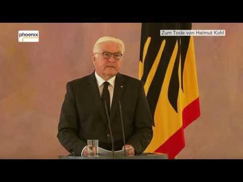 Zum Tod von Helmut Kohl: Erklärung von Bundespräsident Steinmeier am 16.06.17