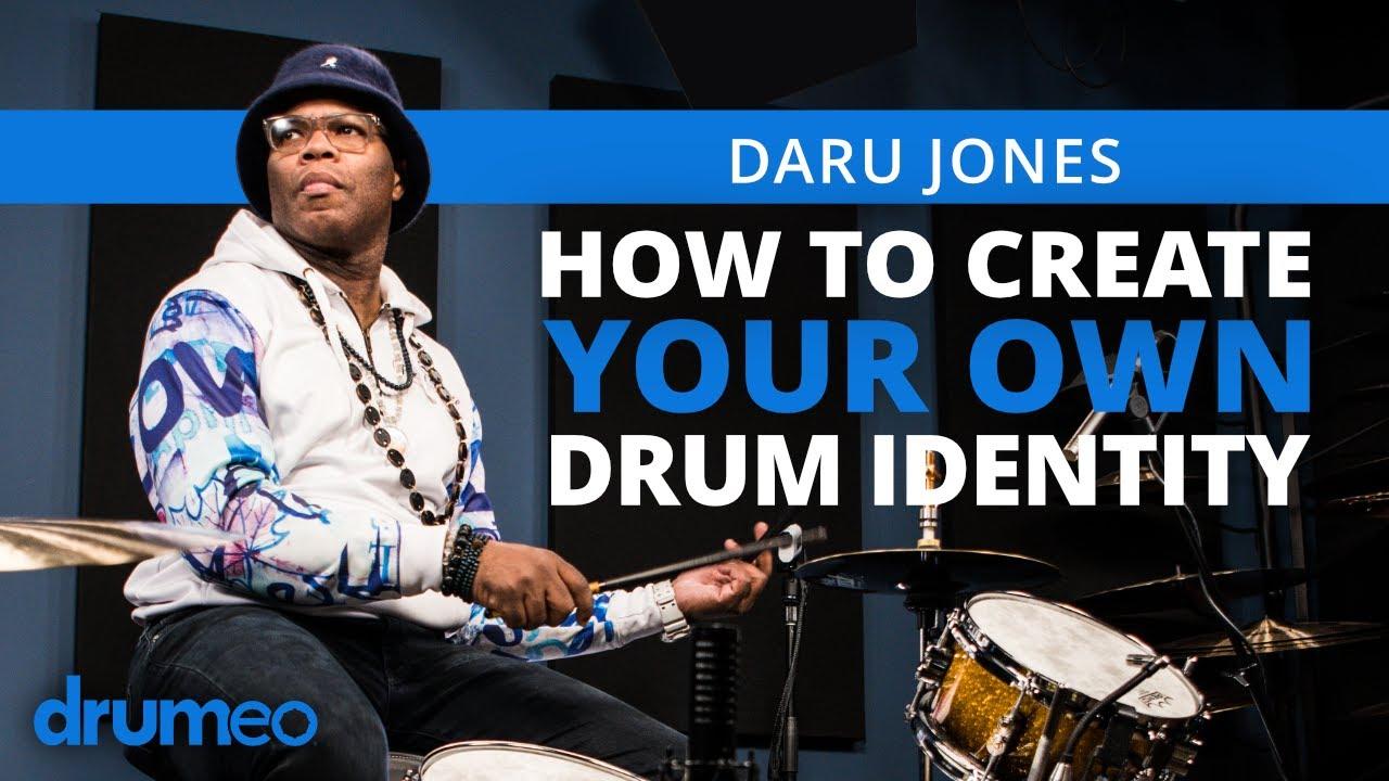 Download Creating Your Own Drum Identity - Daru Jones