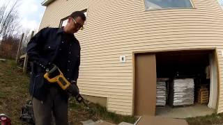 Building Custom Cheap Garage Doors - 119 - My Diy Garage Build Hd Time Lapse