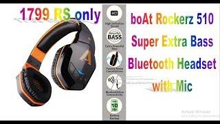 0629b1c27db Rockerz 510 Wireless Bluetooth Headphones Unboxing