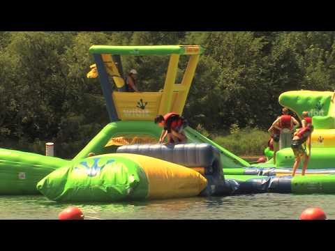 Floating Playground | Nebraska's Outdoor Venture Parks