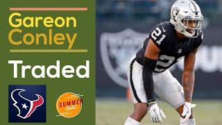 BREAKING Gareon Conley TRADED to Houston Texans