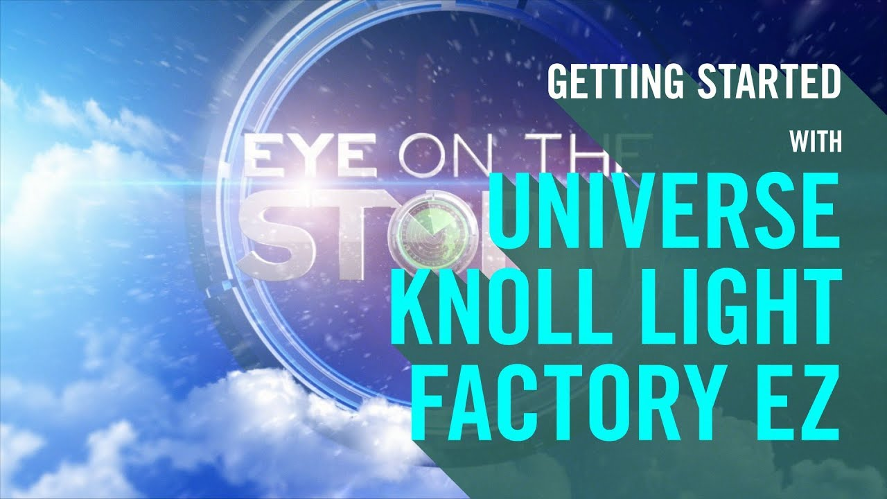 Buy Universe Knoll Light Factory EZ from Red Giant | Lens