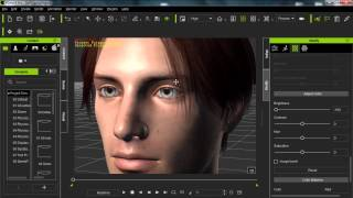 Daz to iClone 6 Tutorial - Importing Daz Genesis 2 Characters to iClone