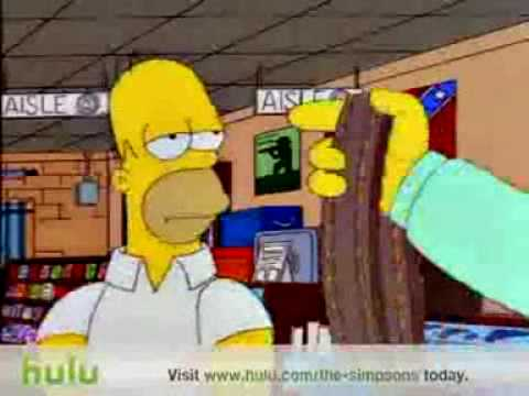 The Simpsons - Gun Shop Hulu Clip