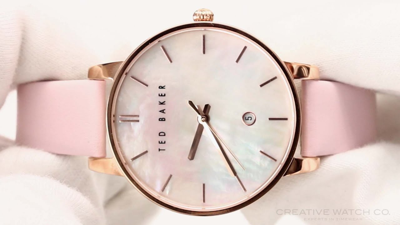 rsp buyted brook detail ted gold john pdp main at s watch strap rose lewis baker bow online watches leather blush women