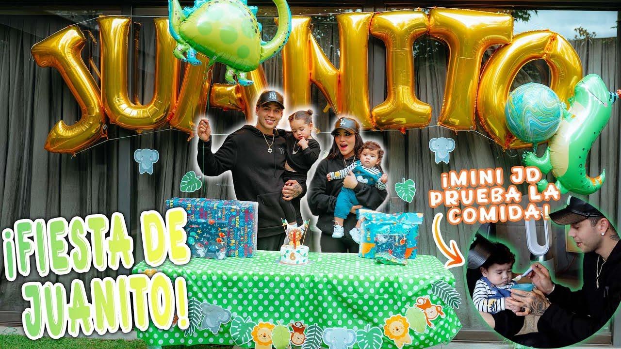 Download FIESTA DE 6 MESES DE JUANITO 👶🏻 Vlog familia Jukilop ✨ Kimberly Loaiza