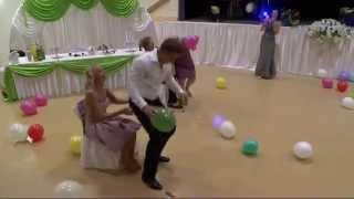 Свадьба Конкурс с шариками