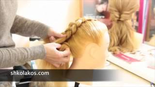 Алия рассказывает о своем обучении в школе кос в Москве